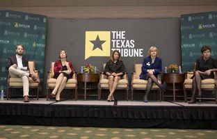 At our 11/16 symposium on higher education, Matthew Watkins talked about higher ed access, affordability and diversity with Lisa Fielder, CEO of College Forward; Cynthia Teniente-Matson, president of Texas A&M University-San Antonio; Shirley Reed, president of South Texas College; and University of Texas System Regent Sara Martinez Tucker.
