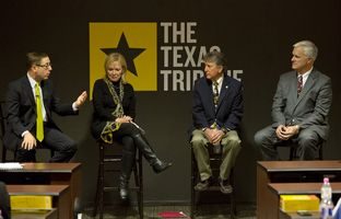 On 12/2, I talked about the future of health care policy in Texas with state. Rep. Myra Crownover, R-Denton; state Rep. Elliott Naishtat, D-Austin; and Dr. Paul Ogden of the Texas A&M Health Science Center.