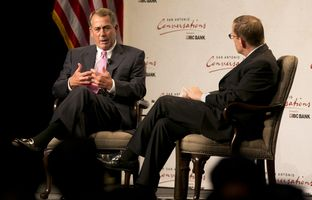 Full video of my 5/12 conversation in San Antonio with U.S. Rep. John Boehner, R-Ohio, the speaker of the House of Representatives.