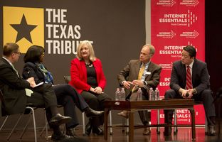 On 12/4, I talked about the digital divide in Texas with Juanita Budd of Austin Free-Net, Becky Garlick of Blinn College, Will Reed of Technology for All and state Rep. Gene Wu, D-Houston.
