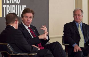 At Thursday's TribLive conversation, state Sen. Dan Patrick, R-Houston, addressed the rumors that he's considering a run for lieutenant governor in 2014.