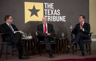 Full video of my 4/16 conversation with state Sen. Kel Seliger, R-Amarillo,and state Rep. John Zerwas, R-Richmond— the chairmen, respectively, of the Senate and House Higher Education committees.