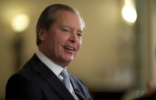 At Thursday's TribLive conversation, Lt. Gov. David Dewhurst made the case for voters re-electing him to a fourth term.