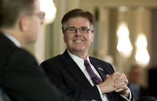 At our 1/27 conversation, Lt. Gov. Dan Patrick talked about the possibility of tax relief as a component of the budget that will be passed by the 84th Legislature.