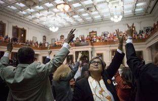 Miss the dramatic end to the debate over abortion legislation in the Texas Senate on Tuesday? Just want to see it again? Here's raw video of the explosive final moments. Spoiler alert: It gets loud.