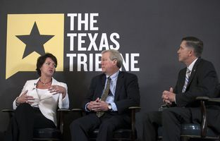 At Monday's TribLive conversation, Laura Huffman, the Texas state director of The Nature Conservancy, talked about the prospects for meaningful water legislation to emerge from the 83rd session.