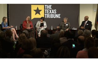 At the Trib's February 25 symposium on public education at Rice University, Morgan Smith talked about what it takes to find and retain great teachers with Linda McSpadden McNeil of Rice University, Elisa Villanueva Beard of Teach for America, Gayle Fallon of the Houston Federation of Teachers and former U.S. Secretary of Education Rod Paige.