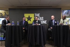 On 10/6, I talked about the future of criminal justice policy in Texas with Derek Cohen of the Center for Effective Justice; state Rep. Joe Moody, D-El Paso; Douglas Smith of the Texas Criminal Justice Coalition; and State Rep. James White, R-Woodville.