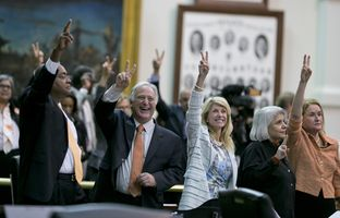As Gov. Rick Perryon Wednesday called for a second special session on abortion restrictions, the drama of Tuesday night's explosive fight in the Texas Senate continued to reverberate.